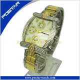 人Psd-2591のためのカスタマイズされたMutifunctionのクロノグラフの方法水晶腕時計