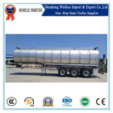 40000L 3 de Semi Aanhangwagen van de Tank van de Tafelolie van het Aluminium van de As Fuwa