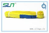 2017 Ce/GSの無限の黄色3t*6mの円形の吊り鎖