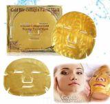 Masque en cristal d'hydratation de massage facial d'or de collagène de soins de la peau