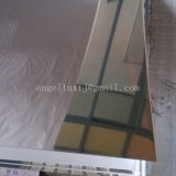 Muy buen precio 430 2b acabado brillante hoja de acero inoxidable y la placa con papel de Interleaf