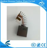 Donsun подгоняло черные щетки углерода в форме графита для електричюеских инструментов