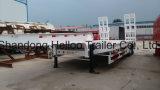 Helloo REMORQUE 3 ESSIEUX 3m de largeur 60 tonne lourds chargements faible lit semi-remorque