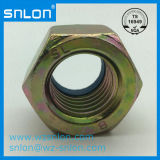 Stahlnylongegenmuttern der einlage-DIN985