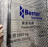 Fabbrica dell'elevatore con le qualificazioni del permesso di manutenzione dell'installazione e di fabbricazione livellata