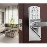 Cerradura de puerta electrónica digital de fácil instalación, abierta por código y llave