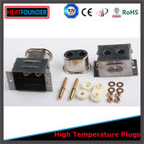 Fiche et plot électriques industriels de température élevée