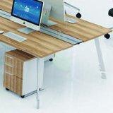 Projeto pequeno da tabela do escritório de equipe de funcionários do projeto novo da manufatura do escritório de Foshan