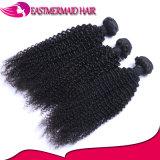Curly Kinky do cabelo chinês do cabelo humano do Virgin da fonte do Natal
