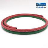1/4 '' roter u. grüner Sortierer-Gummisauerstoff-u. Acetylen-Doppelschweißens-Schlauch