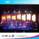 Alto schermo di visualizzazione dell'interno nero del LED dell'affitto di colore completo di contrasto P4.8 SMD2121 LED per l'esposizione della fase