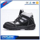 Ботинки безопасности UfB022 тренеров низкой кожи замши отрезока верхние