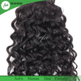 Soft lâche brillant Curly Remy Hair Extensions pour la femme