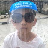 2020 Venta caliente precio barato de plástico PET protector facial Mascarilla facial Anti-Fog+Escudo Escudo de máscara de protección de