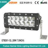 Haut Emark Lumen R10 R112 36W 7.5INCH LED Bar des feux de conduite pour l'Offroad (GTBD01-12L)
