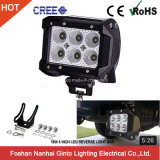 CREE Offroad 12V 18W 4inch CREE Retour vers le haut LED Light Bar voiture Offroad USA (GT3400-18W)