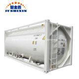 40ft 20FT 22.5/29/29.5CBM ISO Charbon/ciment en vrac d'expédition/plâtre/ZnO/Znic Poudre de stockage portable d'acier vraquier citerne à cargaison contenant