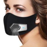 Fresh Air Supply Smart Electric Mask Air Purifying Mask Anti Pollution Mask voor uitlaatgassen, Pollen Allergy, PM2.5, hardlopen, fietsen en buitenactiviteiten