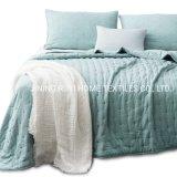 Quilt-Coverlet-Bedspread-Blanket-Set + deux Shams, ultra léger, lavable en machine, léger, design All-Season, nostalgique - Hypoallergène - Solid Color