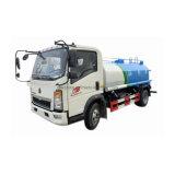 L'eau HOWO 4X2 Tank Truck 5cbm spray sprinkleur chariot de l'eau pour la vente Philippines