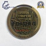 Medalla dura del esmalte con final del oro