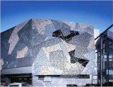 ACP composé en aluminium matériel de panneau de décoration de construction d'Aludong