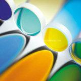 El vidrio del color filtra especificaciones