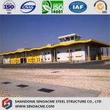 Große Überspannungs-logistisches Stahlkonstruktion-Lager