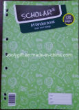 Scholar A4 Exercise Book A4 Binder Notebook with Margin