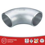 O cotovelo do tubo de aço inoxidável 304/316