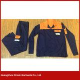 주문품 면 고품질 안전 일 착용 제복 (W299)