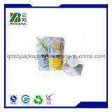 Flüssiger Fastfood- Beutel mit dem Tülle-Verpacken