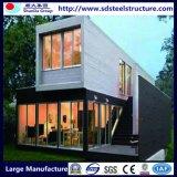 Het modulaire Huis Geprefabriceerde Huis van de Container met Goed Bouwmateriaal