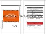 Saco tecido PP material novo da embalagem de 100% para o fertilizante
