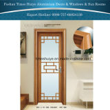 Chuveiro porta de alumínio com vidro duplo