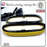 Зрелища случая Eyeglasses коробки стекел Sun стеклянного случая чтения металла случай Eyewear кожаный оптически (HX396)