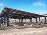 직류 전기를 통하는 가벼운 강철 구조물 헛간 또는 창고 또는 작업장