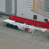 3axle 40 Feet Skeleton Semi-remorque Container Semi-remorque