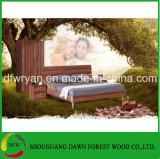 Walnuss-Panel-Schlafzimmer-Set
