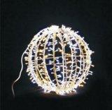LEDの庭のクリスマスの照明30cmの装飾的な球のモチーフライト