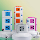 América / British Plug Electrical Multi Socket com carregador USB