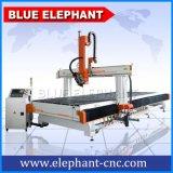 Máquina 2050, máquina do router do CNC do Woodwork do ATC de Ele de cinzeladura de madeira de 4 linhas centrais com preço da máquina do CNC