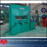 Máquina hidráulica de goma del vulcanizador de la placa automática de la fabricación de China