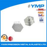 Fresadoras CNC de aluminio 9001ISO de los componentes de piezas de color plata
