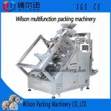 do pesador Inclined de Multihead do alimento do pé ou da batata de galinha 25kg máquina de empacotamento automática