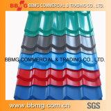 JIS G quente/laminou quente do material de construção mergulhado galvanizado ASTM corrugado Prepainted/cor revestido PPGI que telha o metal da chapa de aço