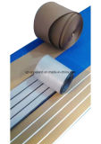 Aqualand Wood Plastic Composite Flexible Teak / Boat Decking / Synthetic Teak Flooring