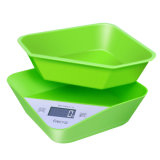 Escala de cozinha digital com Bowl Food Diet Fruit Scale