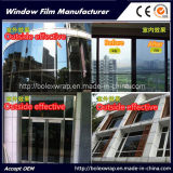 Black Silver Reflective One Way Mirror Solar Control Building Window Film for Building