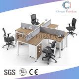 Poste de travail moderne de bureau de croix de meubles avec la partition